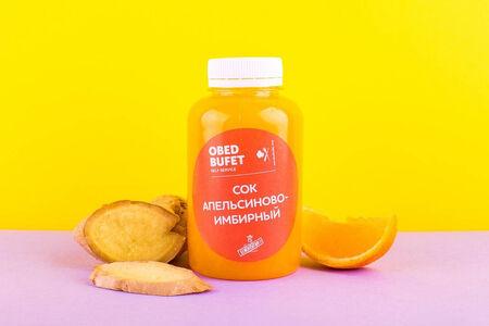Апельсиново-имбирный свежевыжатый сок
