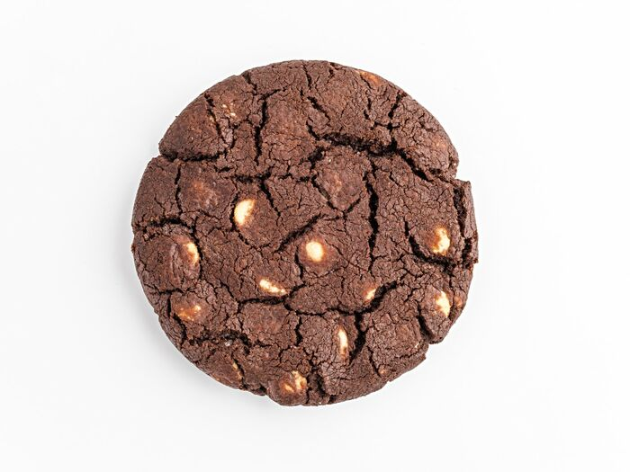 Печенье шоколадное с белым шоколадом