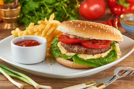 Кебаб бургер