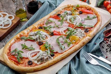Римская пицца Прошутто и фунги