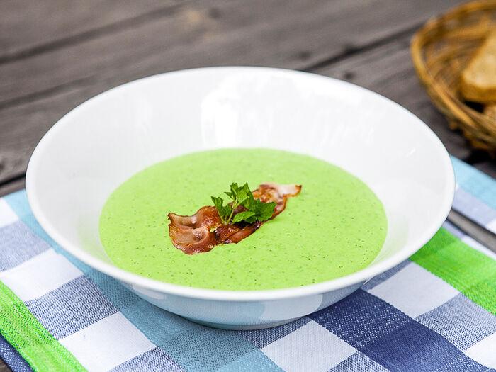 Крем-суп Зеленый
