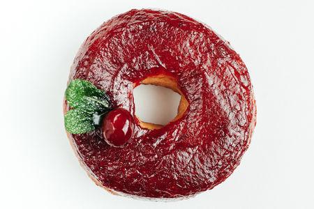 Пончик Куриный паштет-клюква