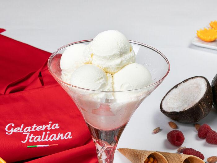 Желато йогурт в ресторане Желатерия Итальяна