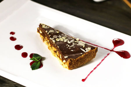 Арахисовый тарт