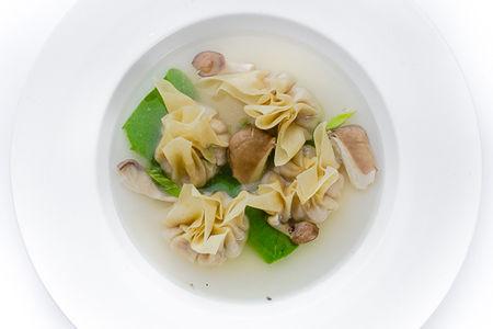 Суп Ван-тан с пельменями