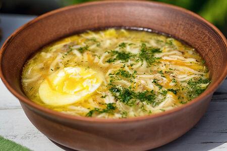 СП Куриный суп с домашней лапшой