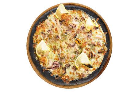 Пицца с морепродуктами Блэк