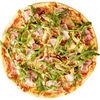 Фото к позиции меню Пицца с курицей и беконом