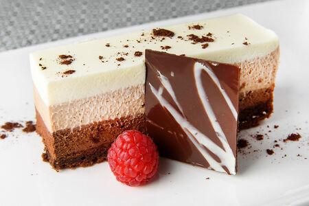 Чизкейк Три Шоколада
