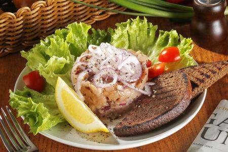 Филе подмороженной пеламиды или скумбрии