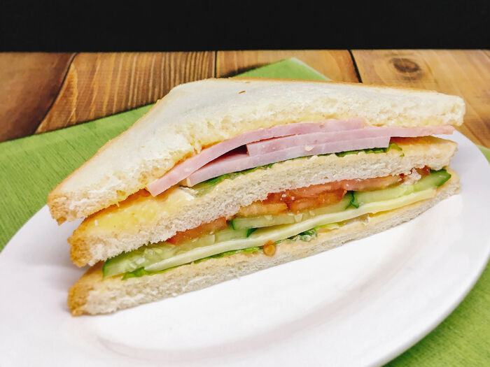Сэндвич Сидней с ветчиной