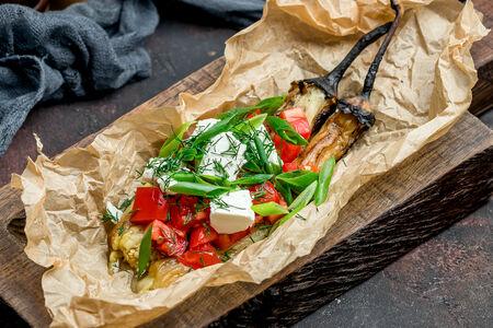 Салат Вкусный баклажан