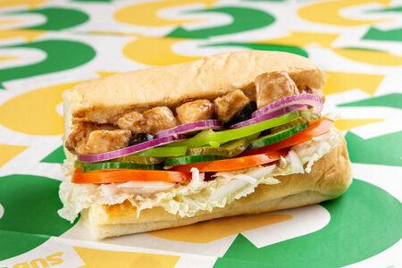 Сэндвич Курица Терияки маленький