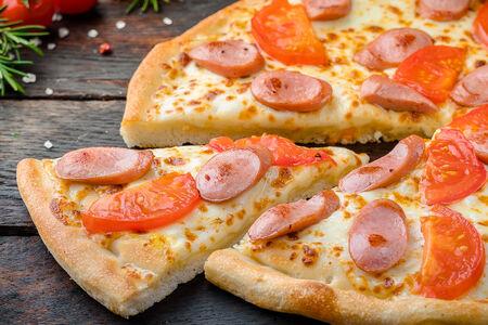 Пицца маленький охотник