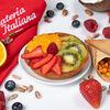 Фото к позиции меню Пирожное Свежие фрукты