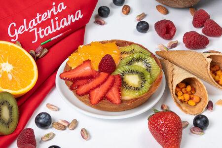 Пирожное Свежие фрукты