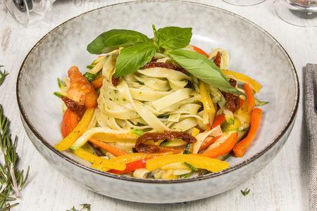 Тальятелле с овощами