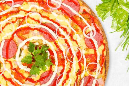 Пицца Мясной остров
