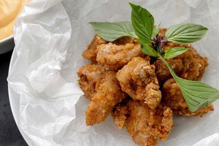 Куриный поп-корн по-тайски