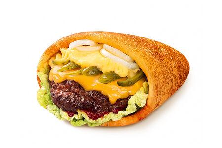 Блин-бургер с картошкой