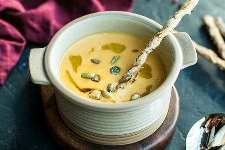 Нежный тыквенный суп-пюре