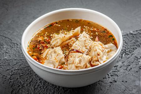 Суп Китайский с вонтонами