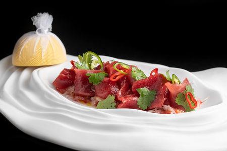 Севиче из тунца аками