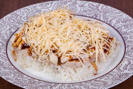 Курица Терияки с сыром