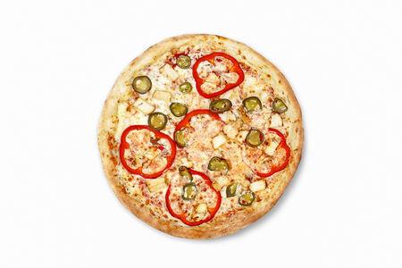 Пицца Куриная с халапеньо