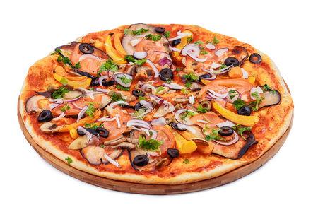 Пицца Овощная с баклажаном