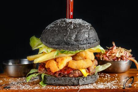 Бургер и кальмары от Майкла Джексона