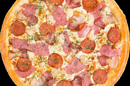 Пицца Мясная с ростбифом на тонком тесте