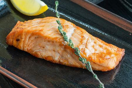 Josper-стейк из лосося