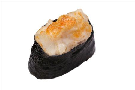 Суши Запеченный гребешок