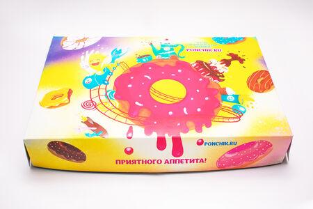 Коробочка Пончик.ru