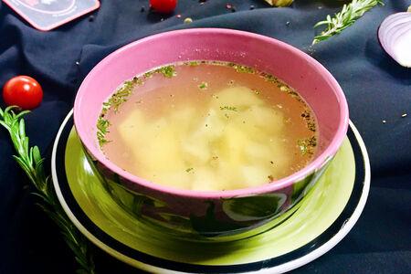 Суп Консоме из цыпленка