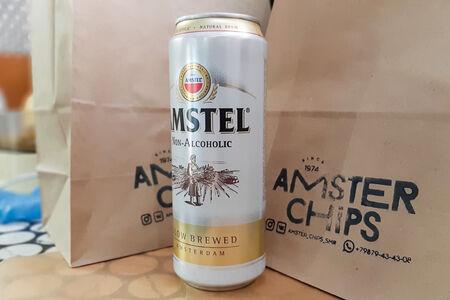 Пиво безалкогольное Amstel