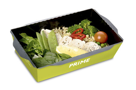 Салат с курицей и овощами