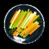 Фото к позиции меню Овощной микс Сельдерей, морковь