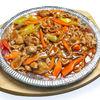 Фото к позиции меню Ароматная баранина на чугунной сковороде