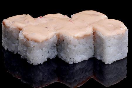 Спайси ролл с морским гребешком