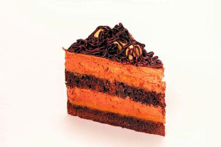 Пирожное Шоколадно-карамельное с фундуком
