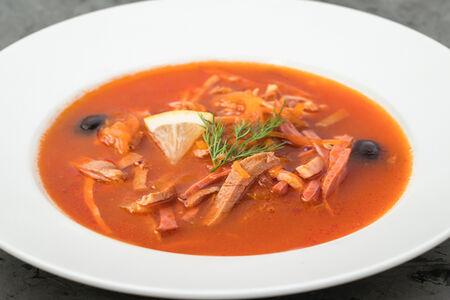 Суп Солянка сборная мясная