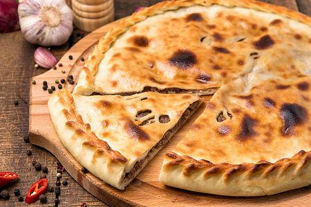 Осетинский пирог с мясом Фыдджын