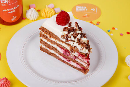 Малиновый торт