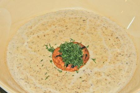 Сливочный суп-крем из шампиньонов