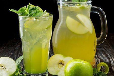 Домашний лимонад Яблоко и барбарис