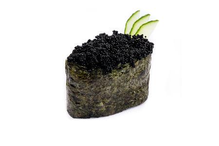 Гункан Тобико черная