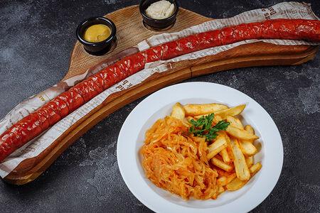 Полметра колбасы