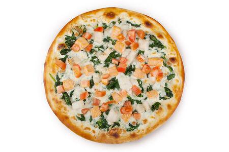 Пицца Сальмоне кон спиначе